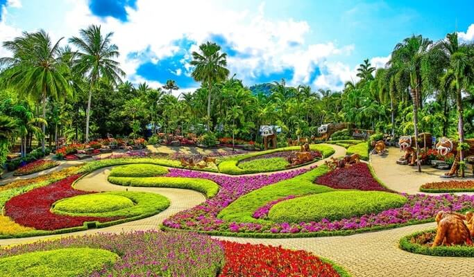 Image result for nong nooch tropical garden